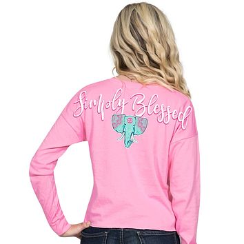 "Simply Southern ""Elephant"" Long Sleeve Shortie"