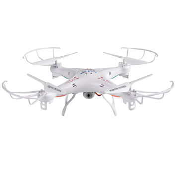 COOCHEER Q5C 2.0 MP HD Camera Drone 4CH 6-Axis Gyro RC Quadcopter White