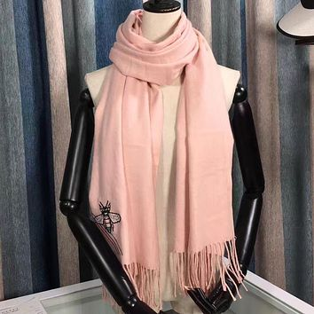 Gucci Women's Fashion Casual Wool Knit Scarf