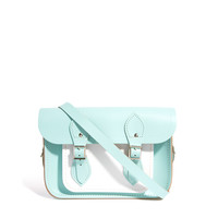 "Cambridge Satchel Company | Cambridge Satchel Company Exclusive To ASOS Colourblock Mint 11"" Satchel at ASOS"