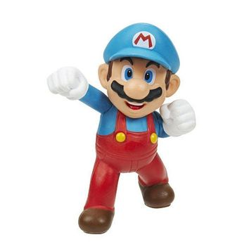 "Super Mario ICE MARIO 2.5"" Mini Figure World Of Nintendo"