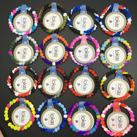 Free Shipping most popular color  lokai bracelet 47 colors S M L XL in High quality