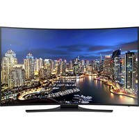 "Samsung - 55"" Class (54-5/8"" Diag.) - LED - Curved - 2160p - Smart - 4K Ultra HD TV - Black"