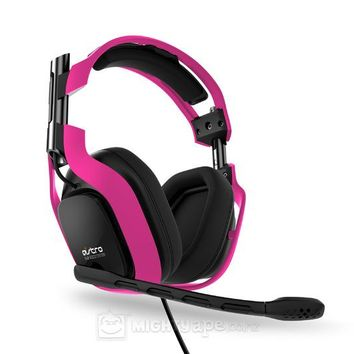 Astro A40 Gaming Headset (Neon Pink) ~ PC Games