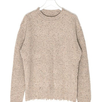Pullover Rip Sweater