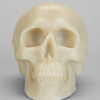 Day Of The Dead Skull Candle - Urban Outfitters