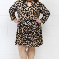 Wild About You Leopard Dress {Curvy}