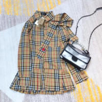burberry Long Sleeve Bodycon Dress