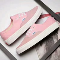 Vans Vault OG Authentic LX sports shoes Casual shoes light pink H-PSXY