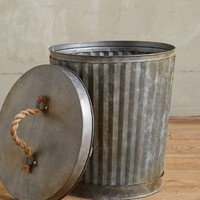 West Village Corrugated Can by Anthropologie in Grey
