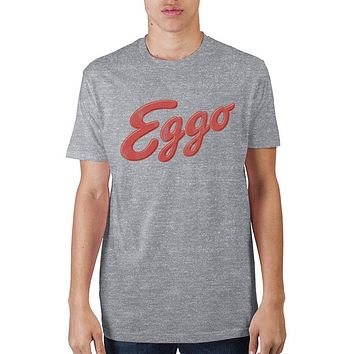 Kellogg's Eggo Logo Athletic Heather T-Shirt - Free Shipping