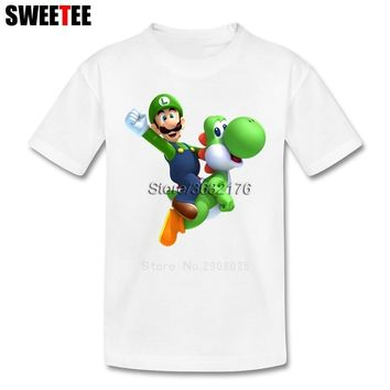 Super Mario party nes switch  Bros Yoshi T Shirt Kid Cotton Toddler O Neck Baby Tshirt Children Infant Clothing 2018 T-shirt For Boy Girl AT_80_8