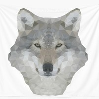 'Wolf' Wall Tapestry by KandM