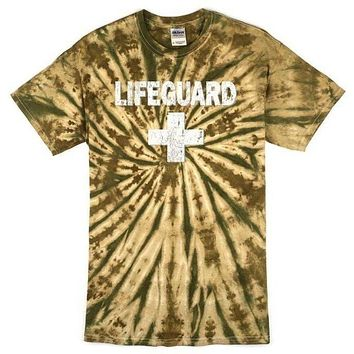 Yoga Clothing for You Mens Camo Lifeguard Tee Shirt