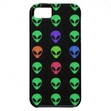 Aliens Of A Different Color iPhone 5 Case from Zazzle.com