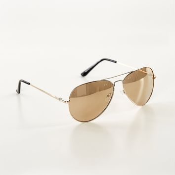 Shayla Aviator Sunglasses