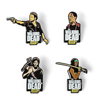 Walking Dead Enamel Pin Set Series 1