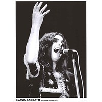 Black Sabbath Ozzy Osbourne Holland 1971 Poster 24x33