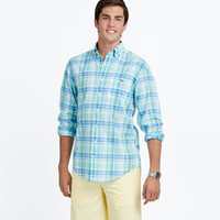 Willa Cay Plaid Tucker Shirt