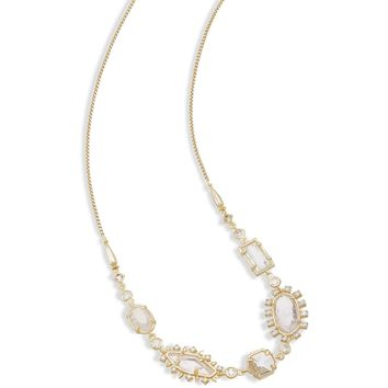 Kendra Scott: June Long Necklace In Gold