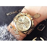 MK Women Men Fashion Quartz Movement Watch I