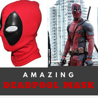 Deadpool Mask, Deadpool Cosplay Costume Deathstroke Mask Full Face