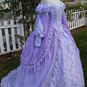 Sleeping Beauty Princess Fantasy Gown Custom Color and Size