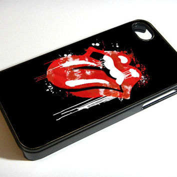 Rolling Stone - Print on iPhone 4/4s Case - iPhone 5 Case - Samsung Galaxy S3 - Samsung Galaxy S4