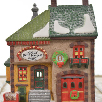 Department 56 Heritage Village Orly's Bell & Harness Supply Store