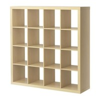 EXPEDIT shelving unit, birch effect - IKEA