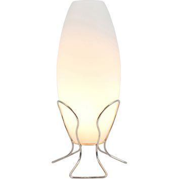 Cocoon Lamp, Frosted Glass