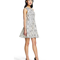 Adrianna Papell Floral Embroidered Party Dress | Dillards.com