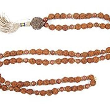 Meditation Mala - Sun Stone Healing Japa Mala Beads Warm Up your CHAKRAS