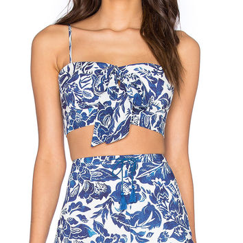 Indigo Jungle Bustier by The Jetset Diaries