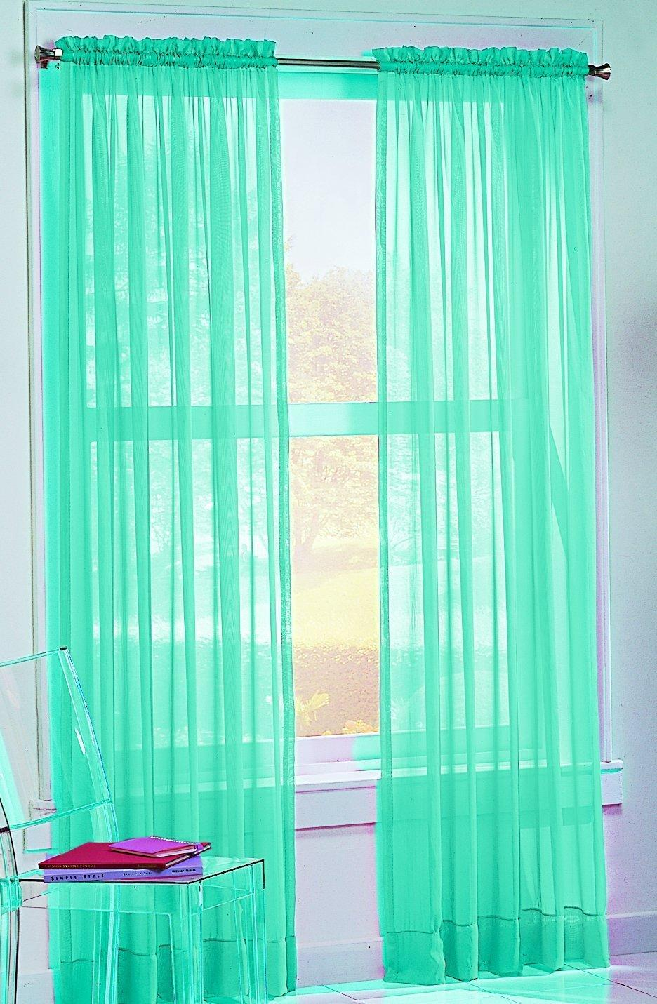 No. 918 Calypso 59 By 84-Inch Sheer Voile From Amazon