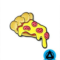 Happy Pizza Pin