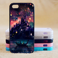Tangled Castle,Custom Case, iPhone 4/4s/5/5s/5C, Samsung Galaxy S2/S3/S4/S5/Note 2/3, Htc One S/M7/M8, Moto G/X