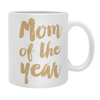 Allyson Johnson Mom of the year Gold Coffee Mug