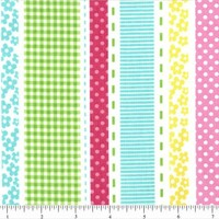 Cheerful Bright Stripe Fabric For T.. on Luulla