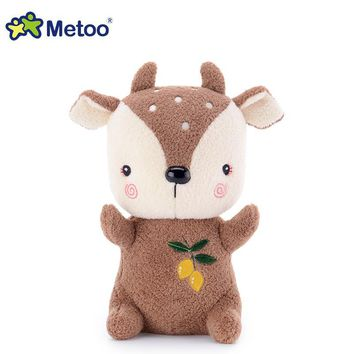 7 Inch Kawaii Plush Stuffed Animal Cartoon Kids Toys for Girls Children Baby Birthday Christmas Gift Deer Metoo Doll