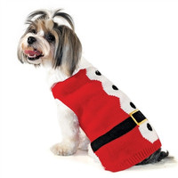 Santa Dog Sweater XXS - 4XL by Dogo Pet Fashions