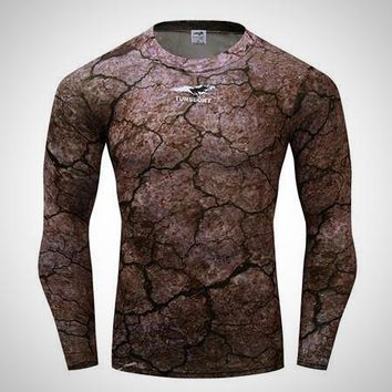 Men's Style Compression Shirt and Rash Guard