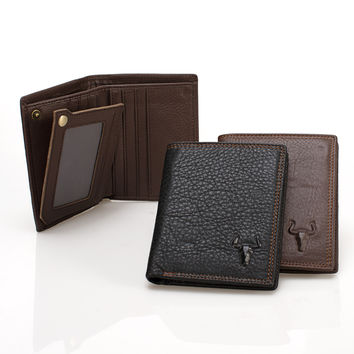Leather Men Wallet [9026283971]