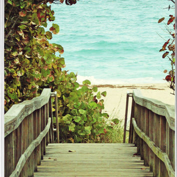 iPhone 4 Case - Beach iPhone Cover - Walkway to Beach - Beach Ocean Photography - Plastic Photo iPhone Case