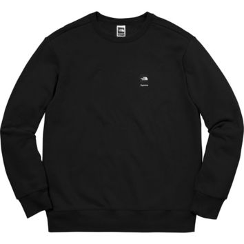 Supreme: Supreme®/The North Face® Mountain Crewneck Sweatshirt - Royal