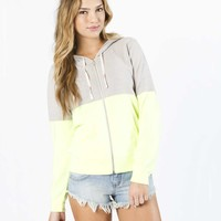 Billabong Women's Into Dust Zip Up Hoodie