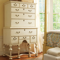 Williamsburg Highboy In Choice Of Color : Drawer Chests at PoshTots