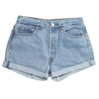 Rokit Recycled Levi's Blue Denim Shorts W31 | Rokit Recycled | Rokit Vintage Clothing