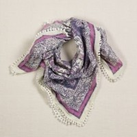 Women's AEO Floral Bauble Scarf - American Eagle Outfitters