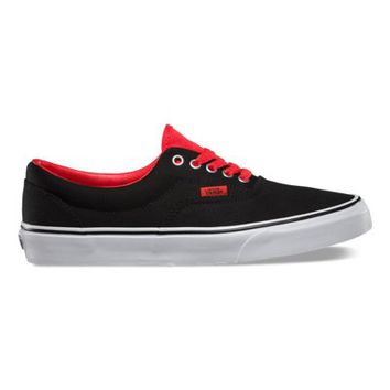 Vans Pop Era (black/high risk red)
